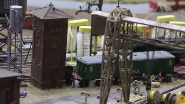 Reiten-Lokomotive erzeugt Rauch
