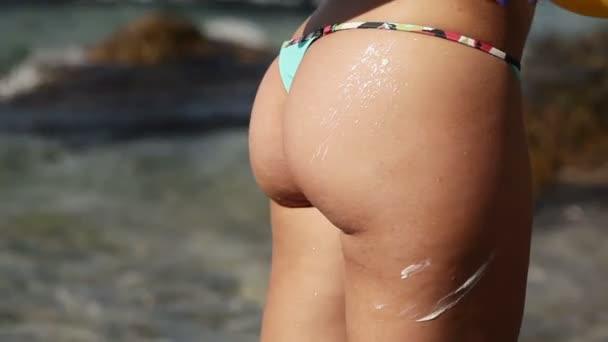 použití sun cream
