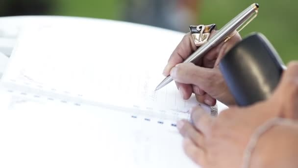 Signature ballpoint pen
