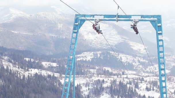 Součástí lyžařského vleku