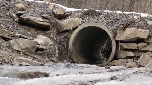 drenážní potrubí