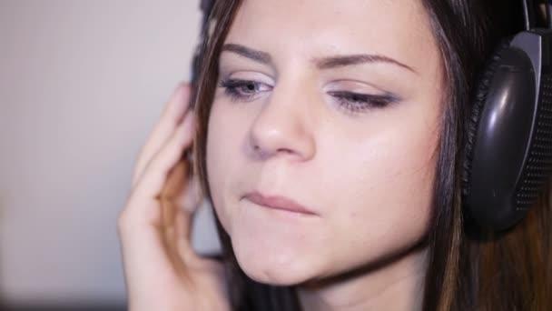 Girl in headphones with Serenity