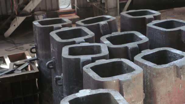 Ingotu formy pro odlévání oceli