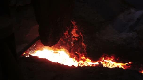 Kanál s horkou žehličkou