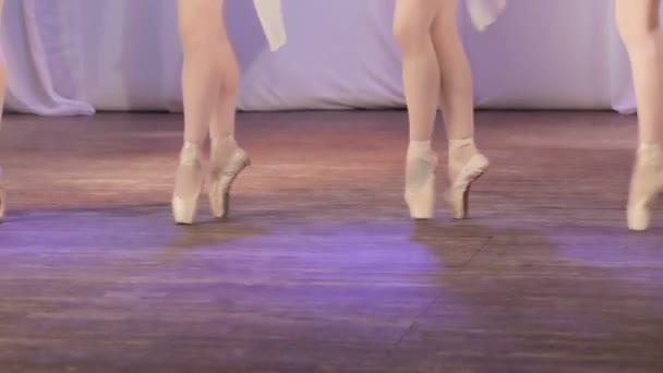Ballet girl feet