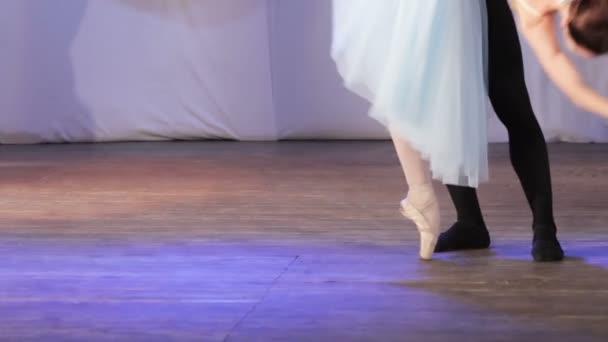 Ballett-Paar Füße