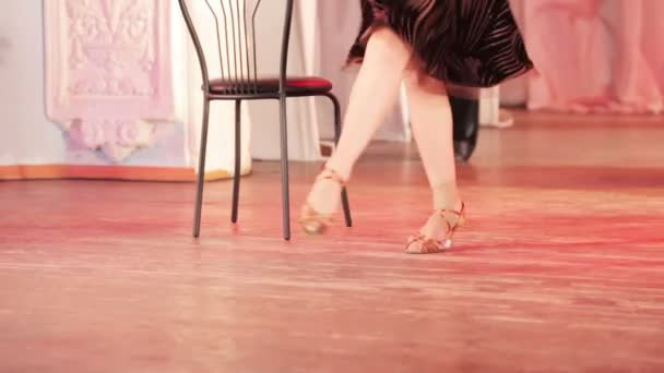 Dance with chair on stage