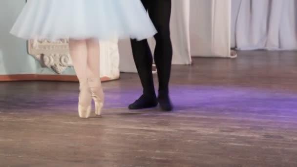 Ballet pair feet