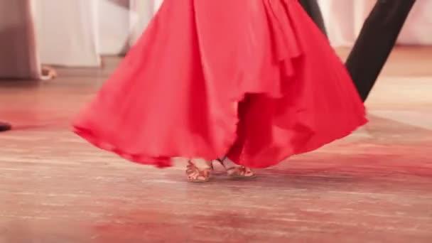 Španělský tanec na jevišti