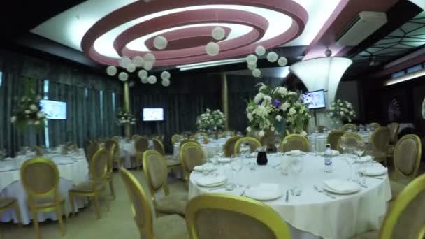 Saal Dekoration Hochzeit Stockvideo C Spstudiovideo 80961122