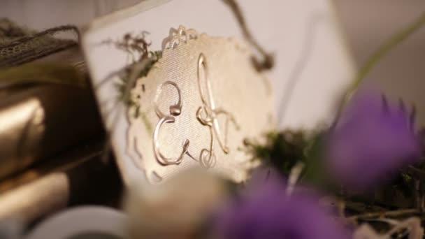Iniciály novomanželů