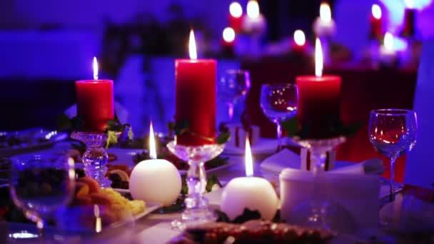 Vánoční dekorace stolu