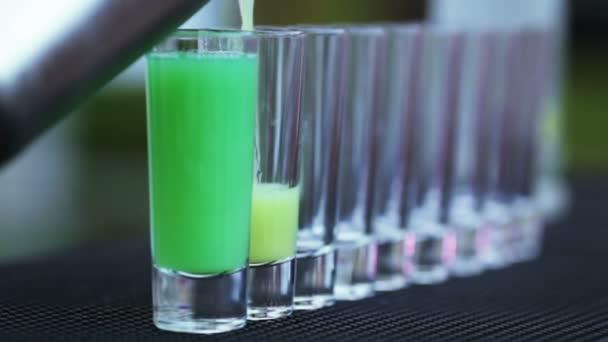 Zubereitung von kurzem Cocktail