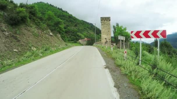horská silnice zase