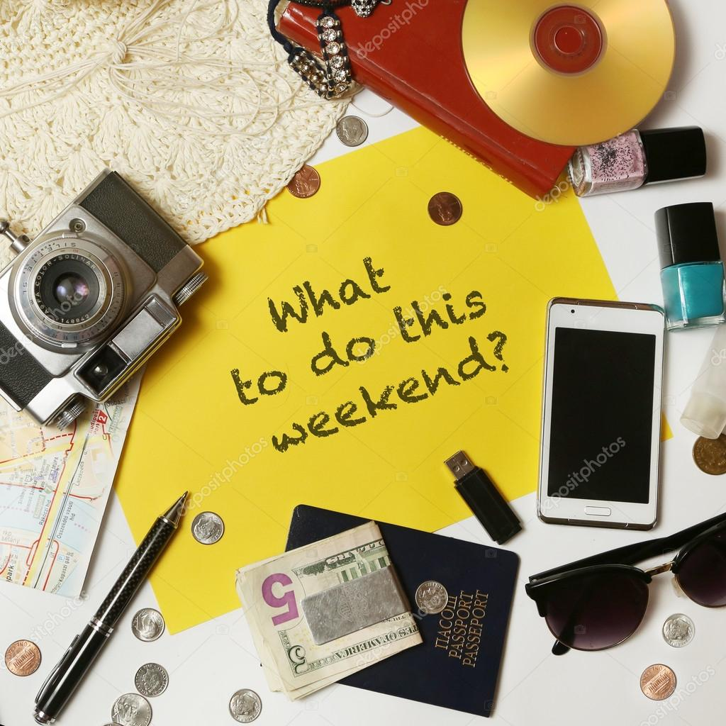 What to do this weekend?
