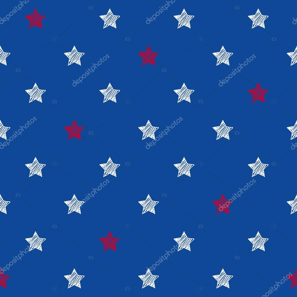 Blanco Y Colores Rojo Azul Estrellas Fondo Transparente Archivo