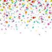 barevné konfety pozadí