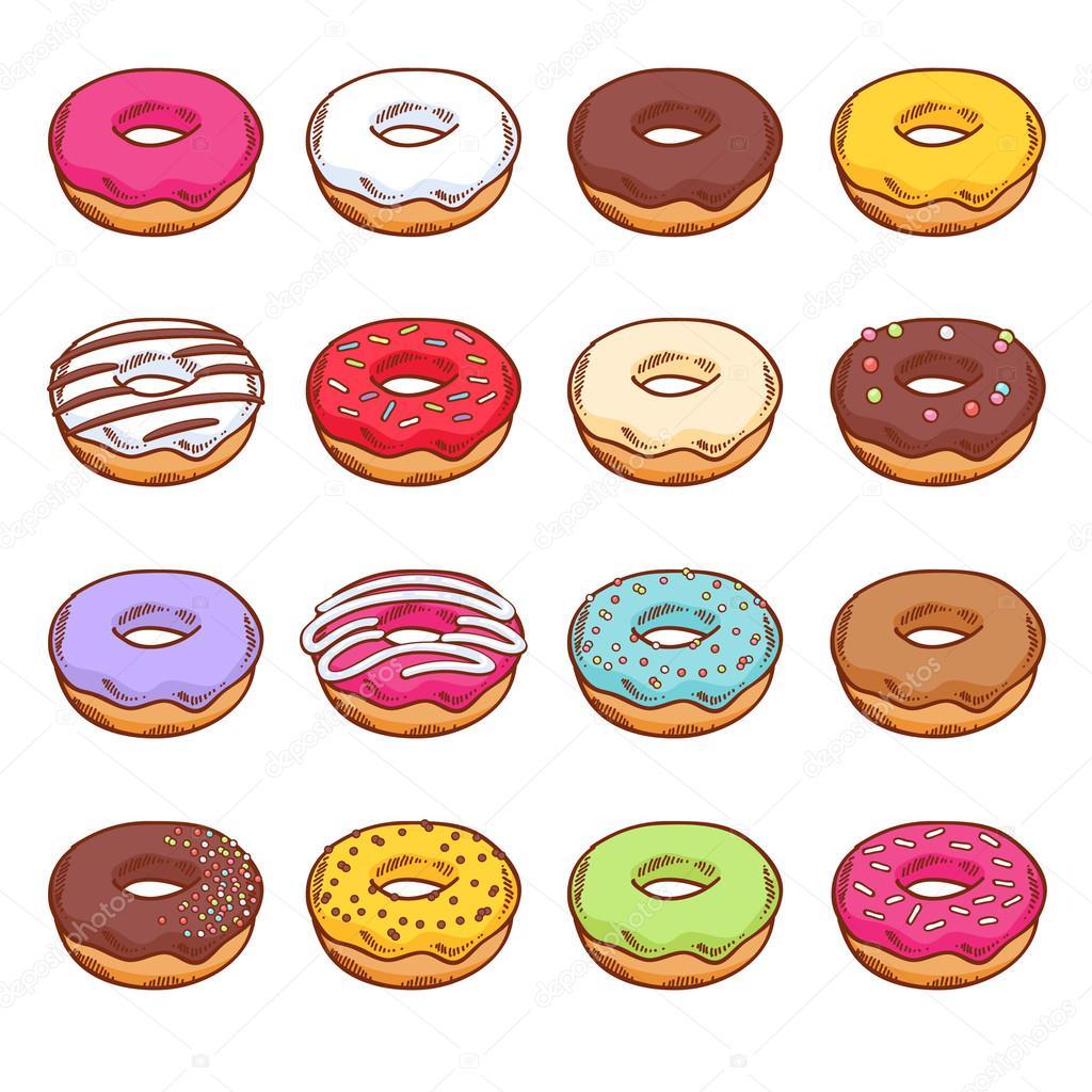 Нарисованные картинки сладости