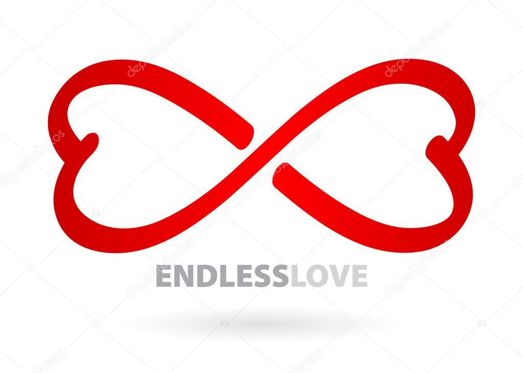 Endless Love Infinity Symbol Stock Vector Reamolko 51984649