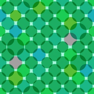Seamless overlapping circles texture