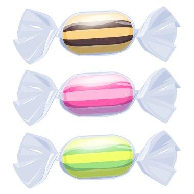 Set of candies
