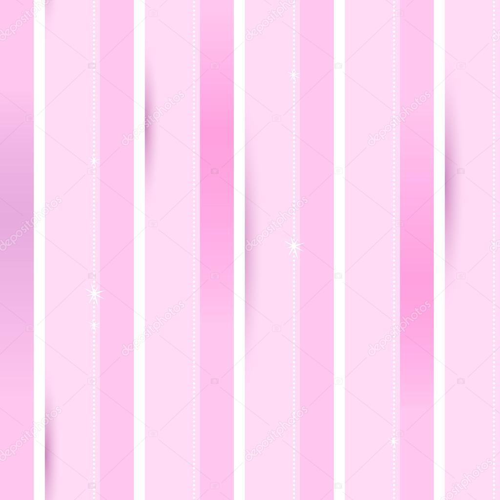 Pink And White Stripes Background Stock Vector C Rea Molko 52000361