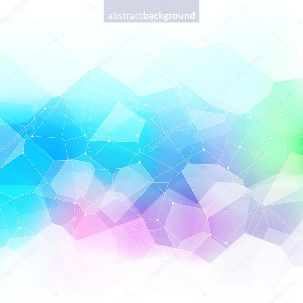 Colorful abstract crystal background. Ice or jewel structure.