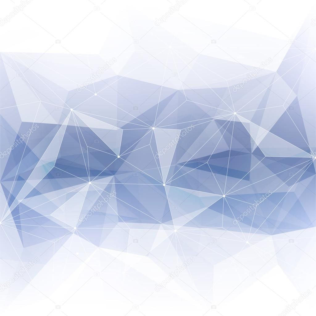 Monochrome abstract crystal background.