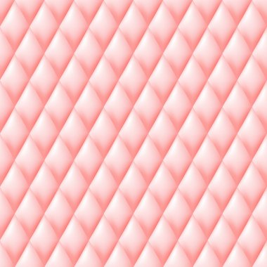 Quilted seamless pattern. Pink color.
