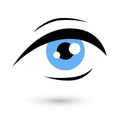 Woman eye logo beauty symbol.