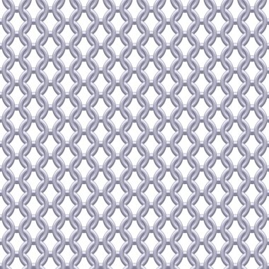 Chain armor, coat of mail seamless texture.