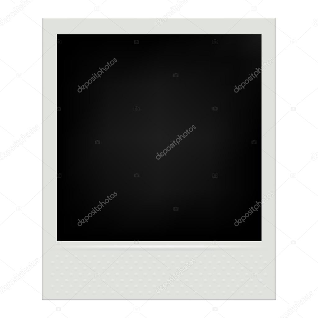 instant film realistic polaroid frame isolated vector illustration vector by rea_molko
