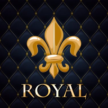 Royal abstract quilted background.