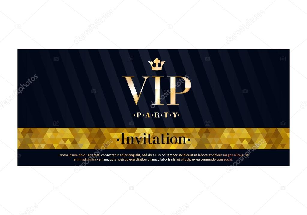 Vip invitation card premium design template stock vector vip invitation card premium design template stock vector spiritdancerdesigns Images