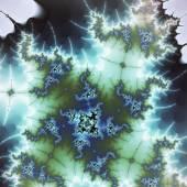 Abstract fractal julia formula, digital artwork for creative graphic design