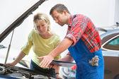 Fotografie Auto repair shop
