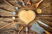 ročník kuchyňské potřeby