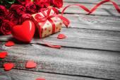 Valentines den pozadí