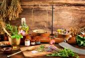 Fotografie Ancient natural medicine