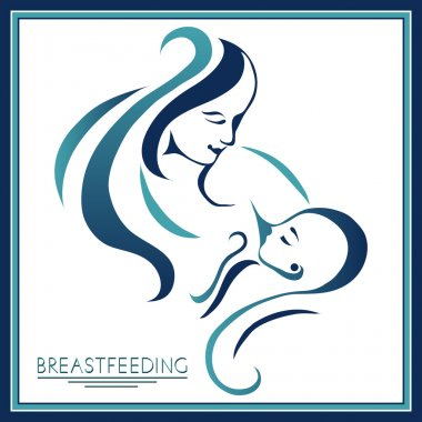 Mother with a baby (breastfeeding) 11