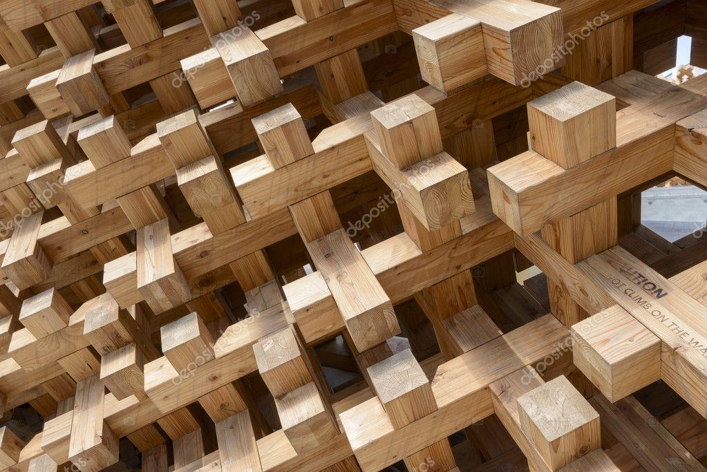 Holzverbindungen im japan pavillon expo 2015 in mailand for Holzverbindungen herstellen