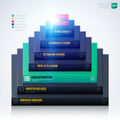 3d pyramid chart template
