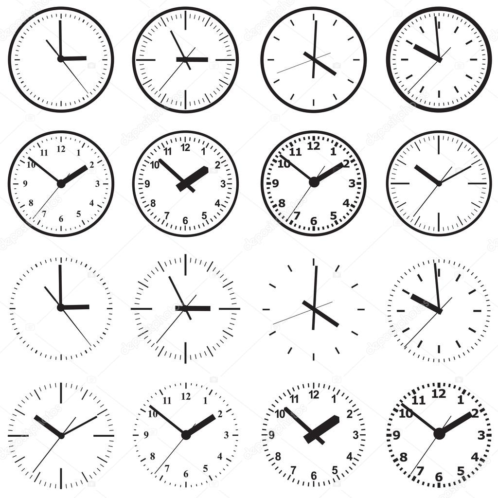 Wall mounted digital clocks wall mounted digital clock stock vector gray1311 82947150 amipublicfo Image collections