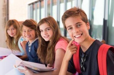 Little kids in School