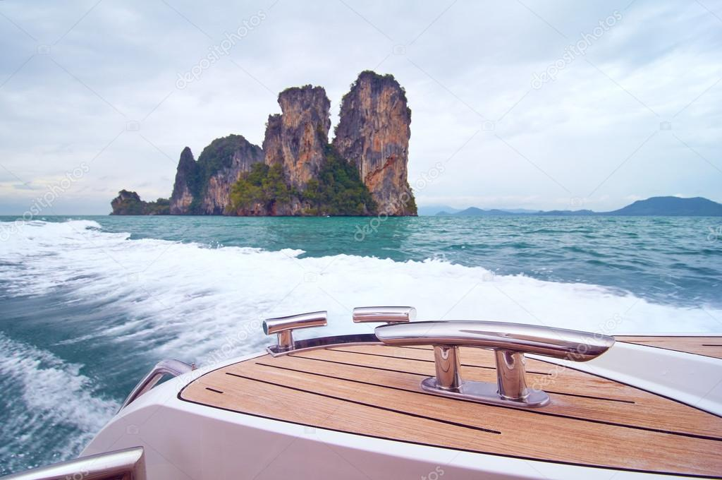 Tropical rock island