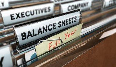 Year End Balance Sheet