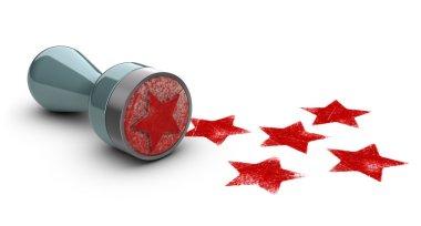 Five Stars Stamp