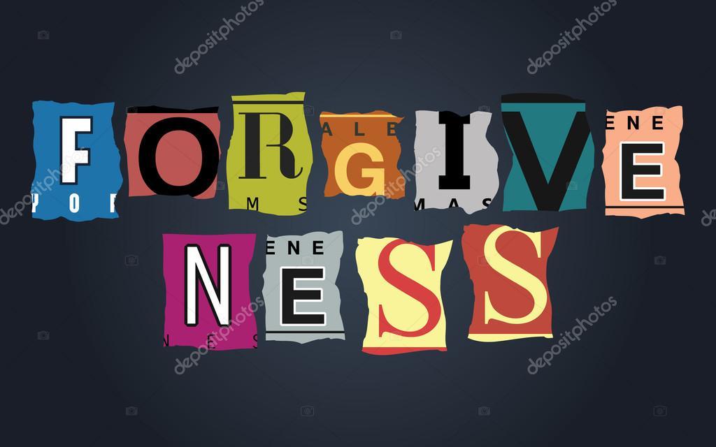 Vergebung Wort auf Autokennzeichen, Vektor — Stockvektor ...