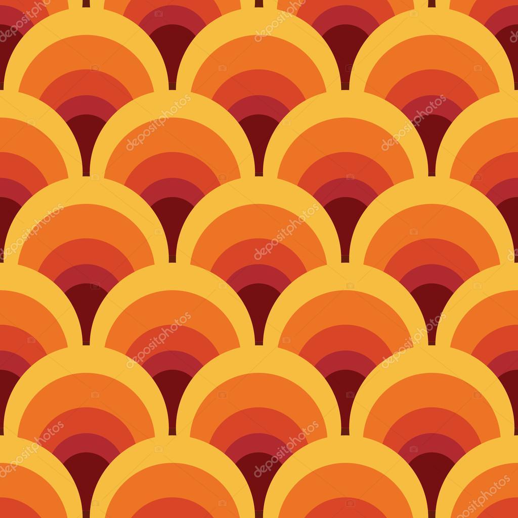 Illustration Vectorielle Sans Couture Papier Peint Geometrique