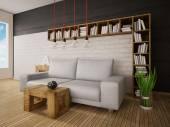3D obrázek interiér